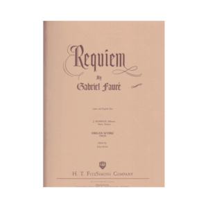 Requiem Organ Score