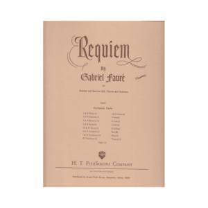 Requiem Orchestral Parts