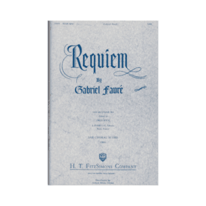 Requiem SAB Choral score