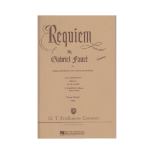 Requiem SATB Vocal Score