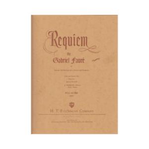Requiem Full Score