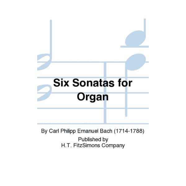 Six Sonatas for Organ