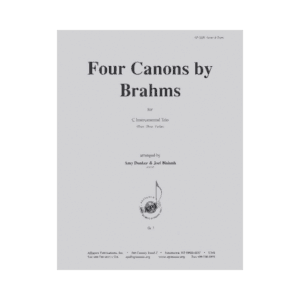 Four Canons By Brahms